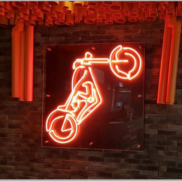 Led Moter Bike