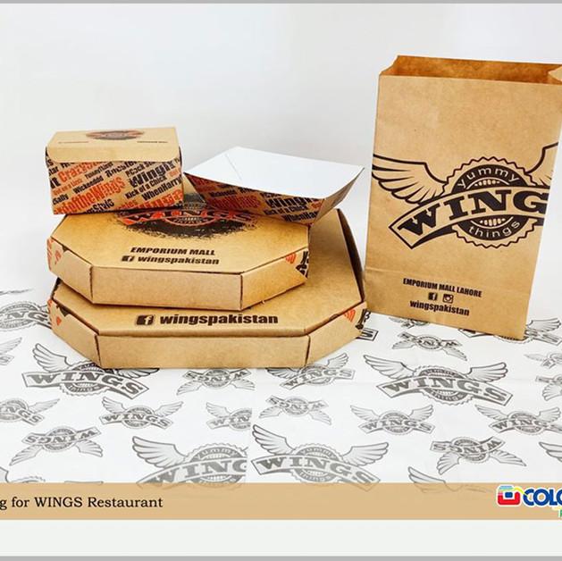 Restaurant packaging