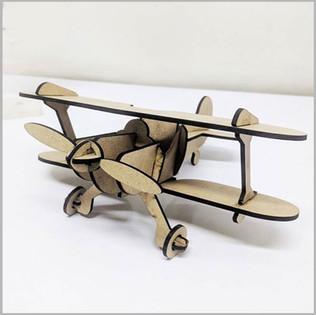 Laser Cut Mdf Airplane
