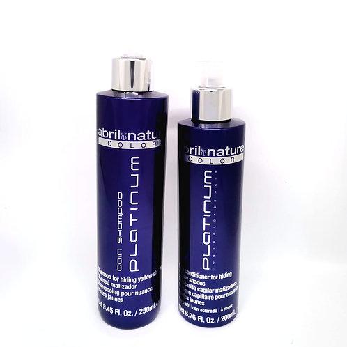Kit Platimum / Matizador Azul - Violeta