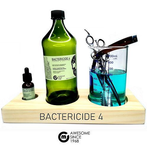 Bactericide 4 / 1000  ml. + Recipiente Decantador + Oil Moisturizer / 30ml