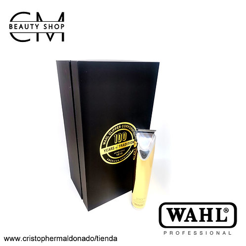Máquina Trimmer Wahl 18k Gold-Plated / 100th Anniversary (inalámbrica)