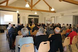 Conférence à Chateaubriant