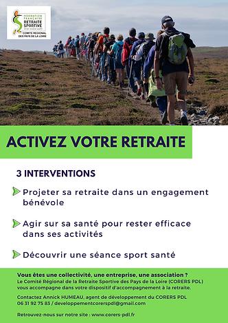 Découvrir une séance sport santé  2h Séa