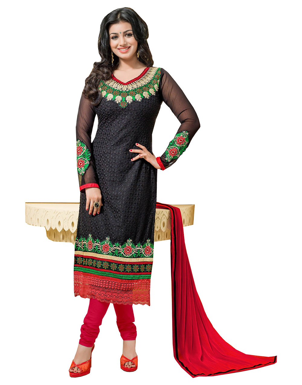 Exclusive dress material georgette