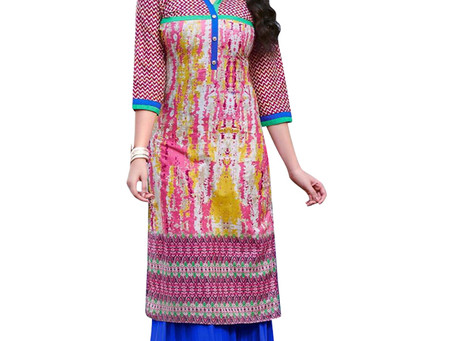 How can you save money while purchase embroidered Kurtis Online?