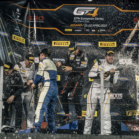 Round 1 GT4 European Series