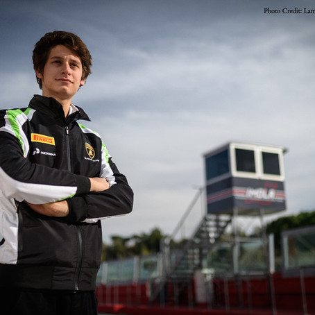 Jonathan Cecotto part of the Lamborghini GT3 Junior Program