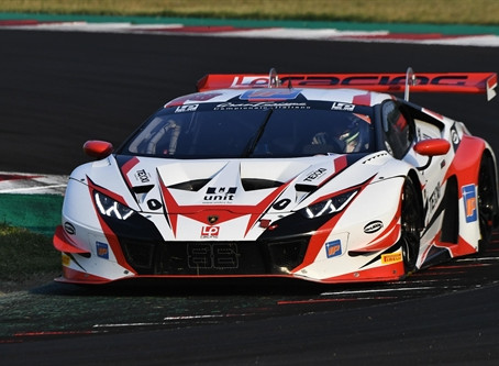 Cecotto with LP Racing in the Italian GT