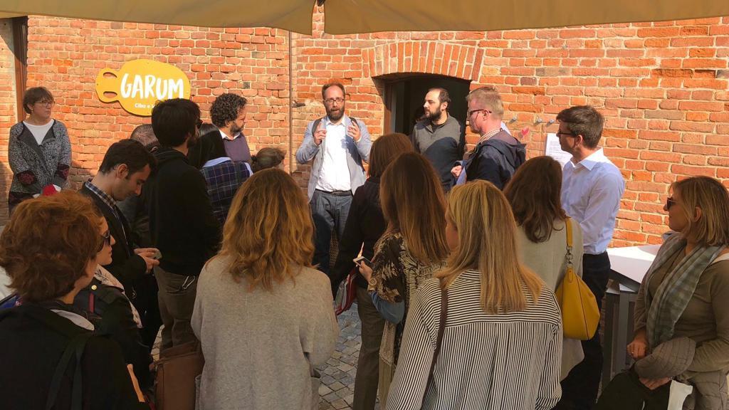Site visit at Portacomaro, Monferrato region - 2018 edition