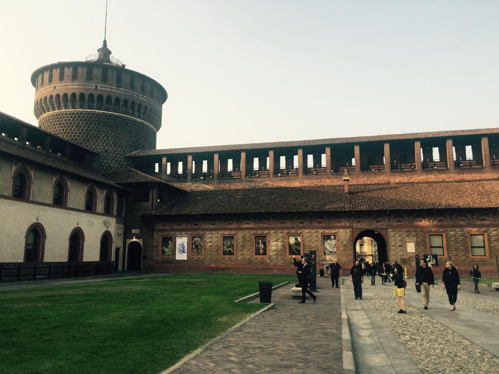 Opening session at Castello Sforzesco - 2018 edition