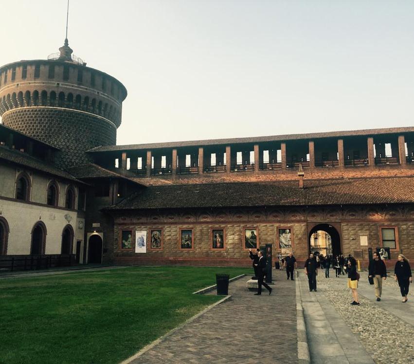 Opening session at Castello Sforzesco - 2018 edition