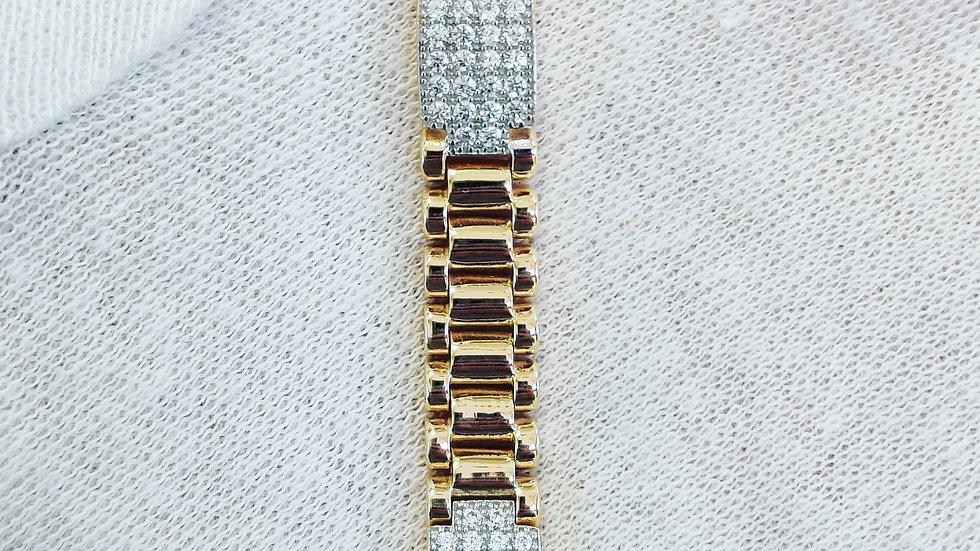 Children's Gold Rolex Inspired Bracelet