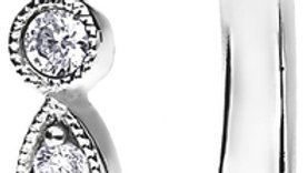 White Gold Vintage Shared Claw Set Diamond Band