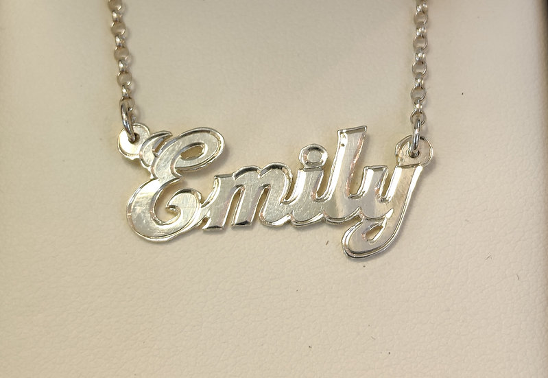Traditional Name Necklace