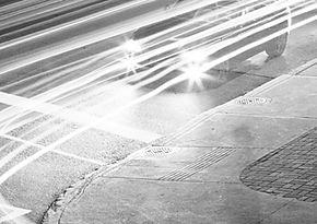 Schwarzweiss-Verkehr
