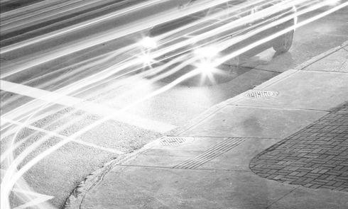 Nero e bianco traffico