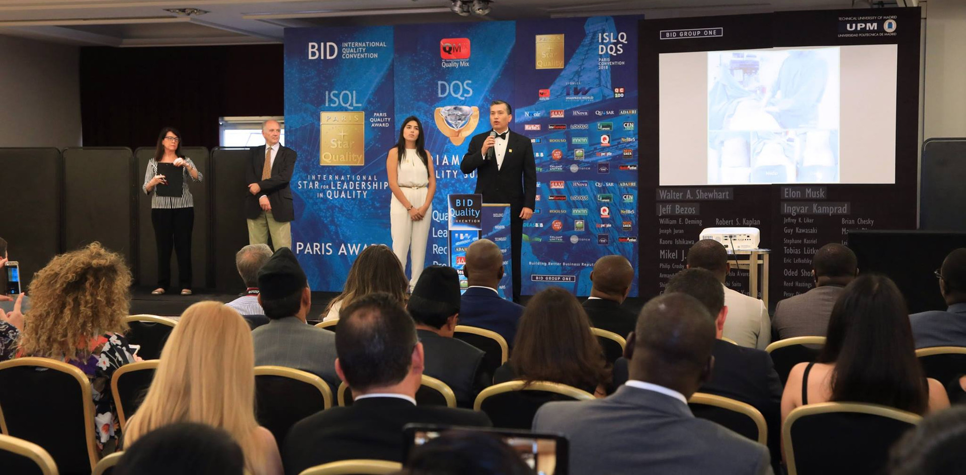 Galardón BID International Star for Leadership in Quality en la categoría ORO