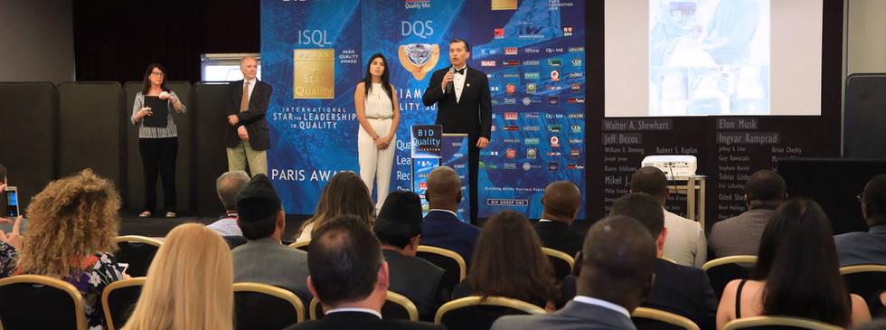 Galardón BID International Star for Leadership in Quality en la categoría ORO