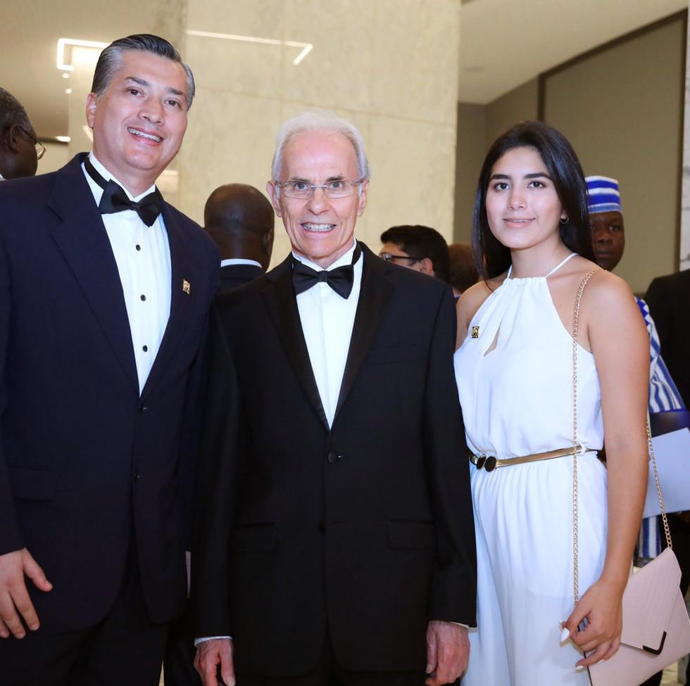 Con el CEO deL certamen