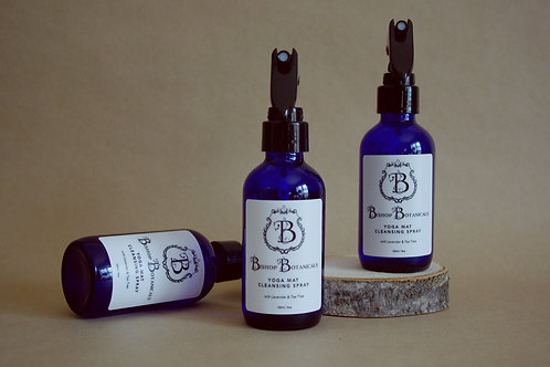 Yoga Mat Cleansing Spray - Lavender & Tea Tree