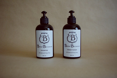 Shampoo & Conditioner Set - Jasmine & Ylang Ylang