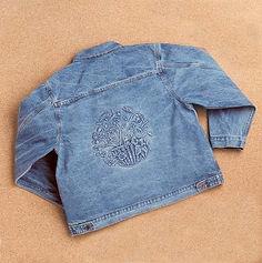Embossed Denim Womens Jacket W32.jpg