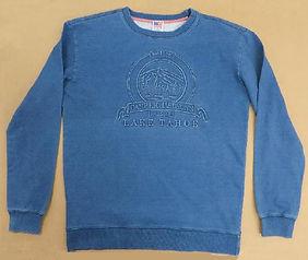 Drenched Indigo Embossed Sweatshirt W20.