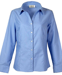 391-OXF Ladies' Button Down.png