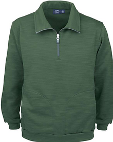9441-TSF Mens 1-4 Zip Tiger Stripe Fleec