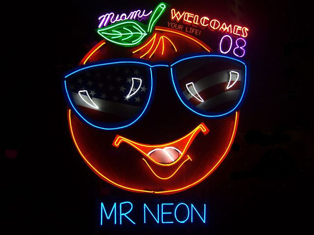 Big Orange Mr. Neon