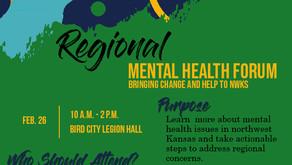Regional mental health forums gain momentum, seek public participation