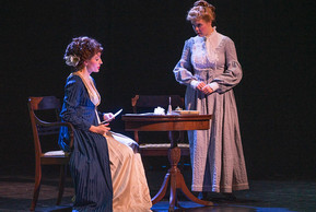 Violetta & Annina, Act III La Traviata