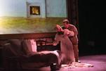 Alfredo helps Violetta, Act IV La Traviata