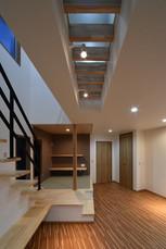 階段 畳コーナー スポット