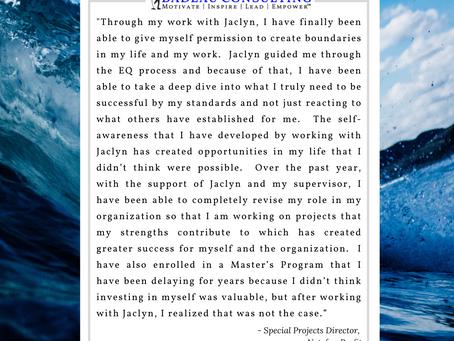 EQ Coaching Testimonial – My Definition of Success