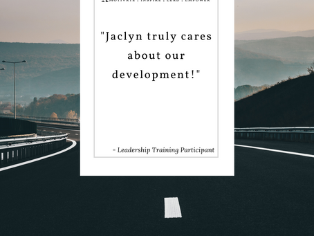 Leadership Training – Truly Cares about Development
