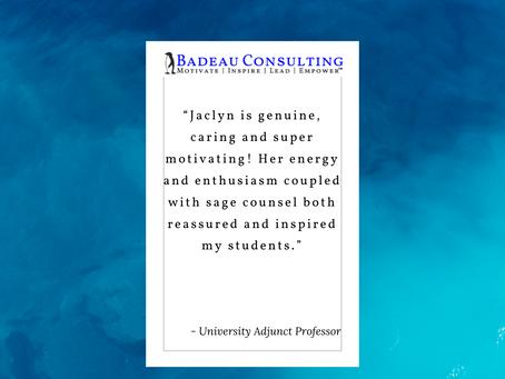 Speaking Testimonial – Inspires Students