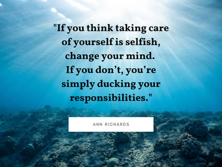 Take Care of Yourself…