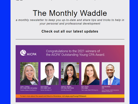 The Monthly Waddle