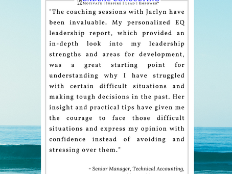 EQ Coaching Testimonial – Face Difficult Situations
