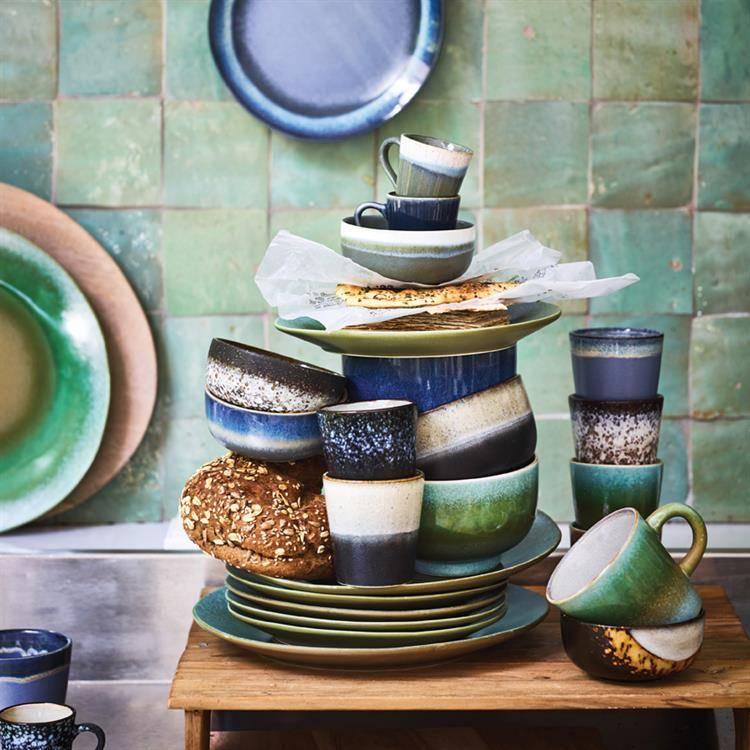 hk-living-ontbijtbord-keramisk-sort