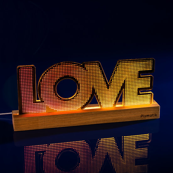 Love fond noir (40 cm)