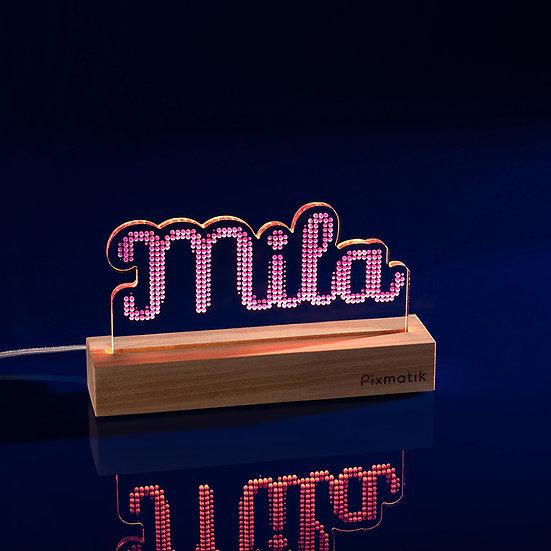 Le Prénom de 1 à 4 lettres (25 cm)