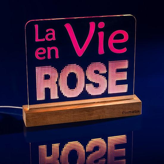 La vie en rose (30 cm)