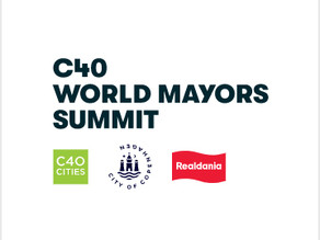 Novalume chosen as an example of public-private climate cooperation at the C40 World Mayors Summit i