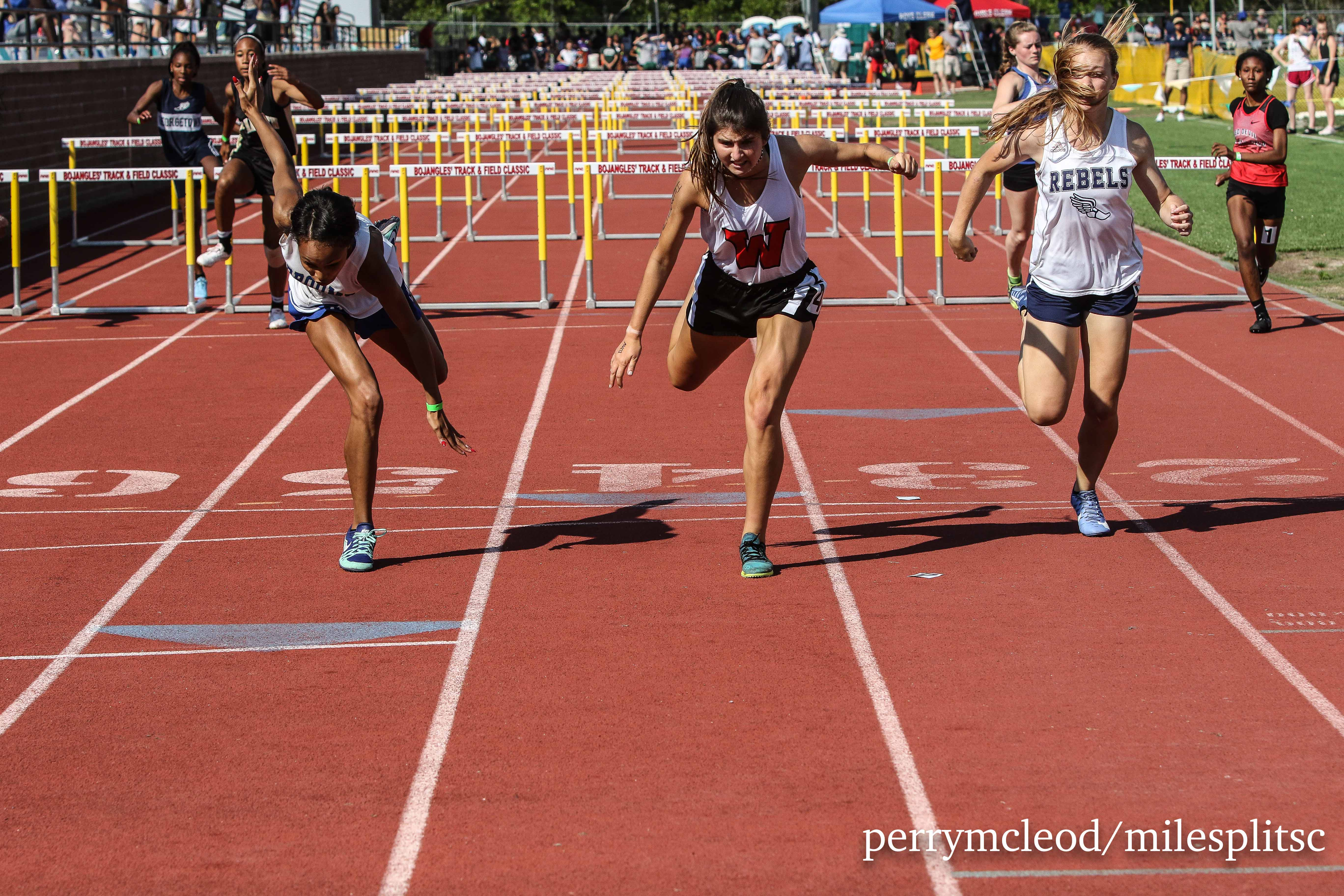 3A Girls 100m Hurdles-7206