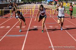 3A Girls 100m Hurdles-7206