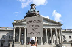 Families belong together protest SC State House -3903