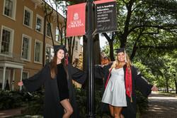 Brittany and friend USC Graduation pics-